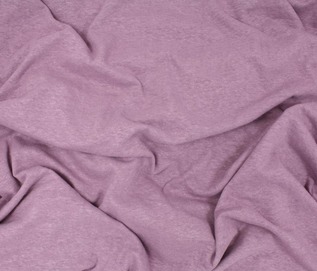 Hemp Cotton Jersey Knit - Mauve - Telio & Cie