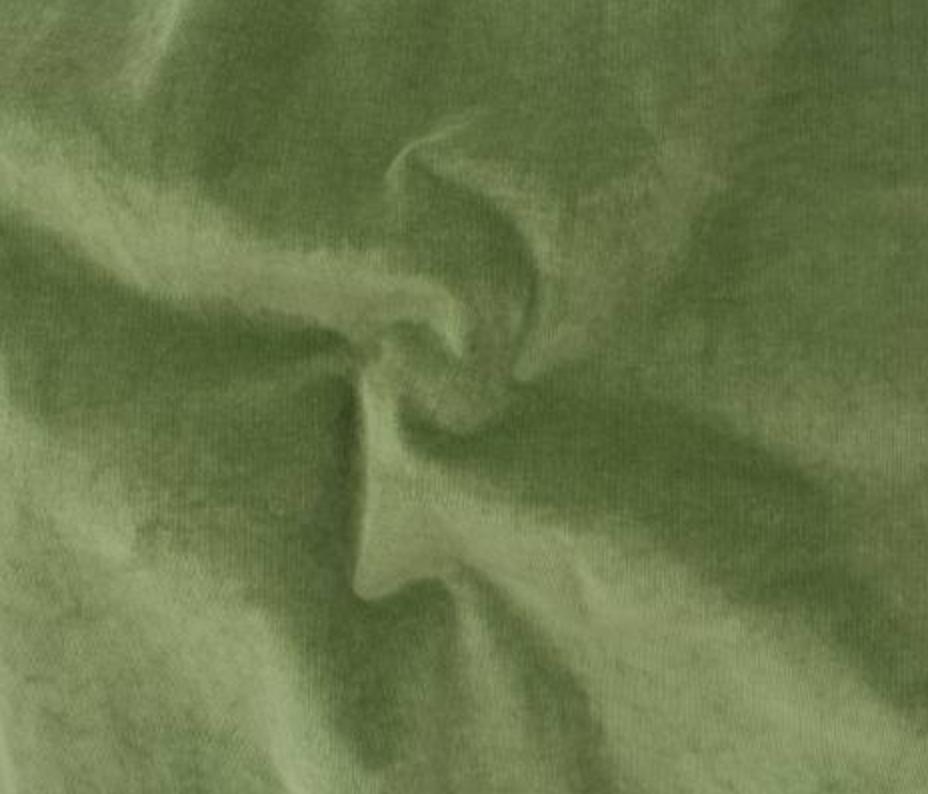 Army Green - Cotton Stretch Corduroy - Telio & Cie
