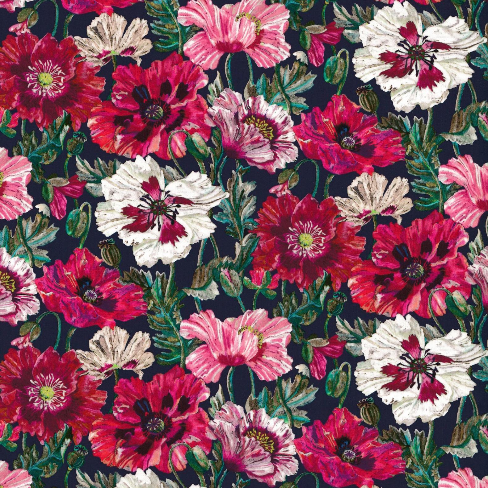 Poppy Amelie A - Tana Lawn - Liberty of London
