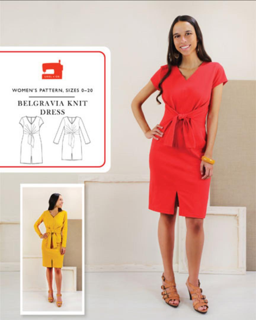 Belgravia Knit Dress - Liesl & Co.