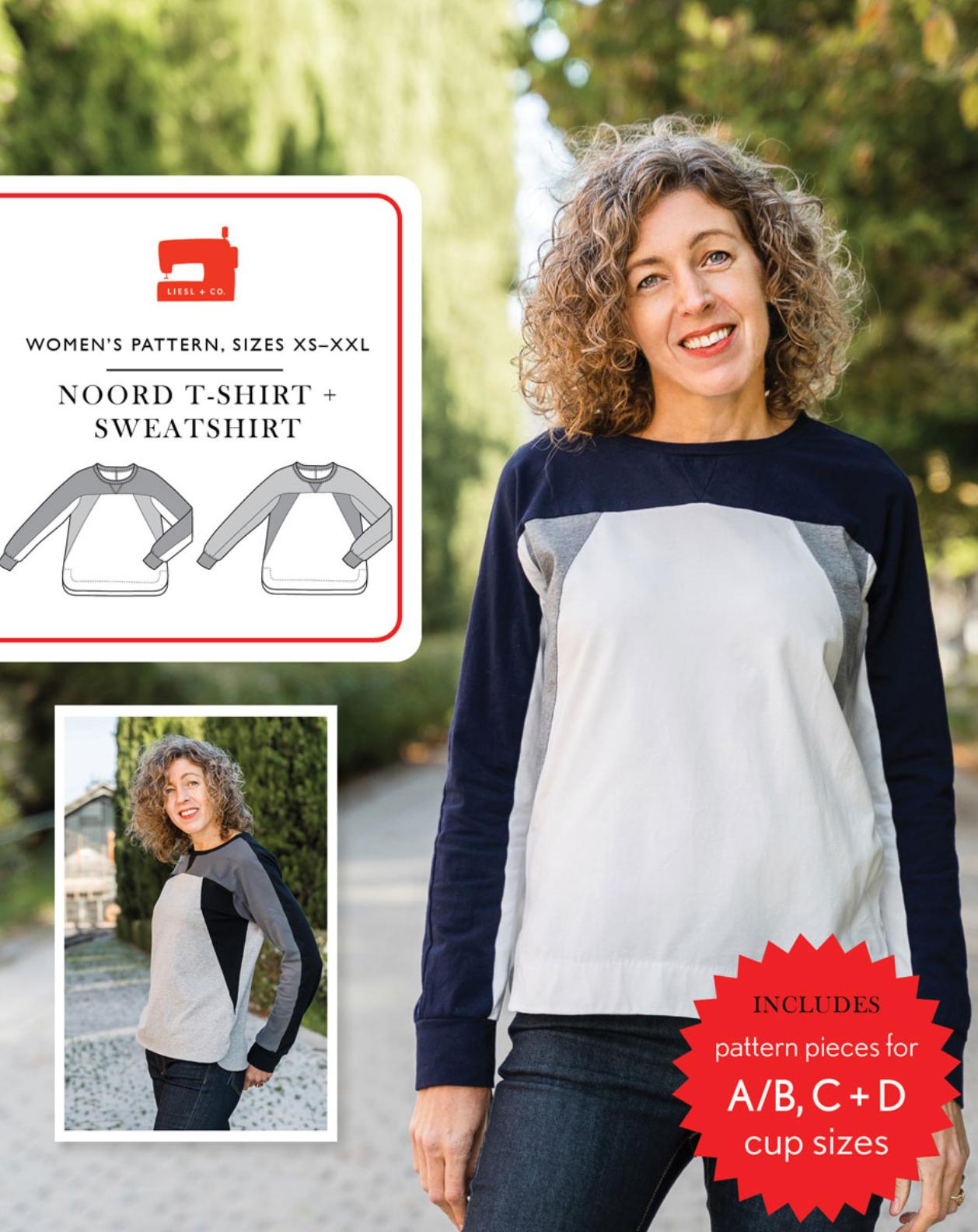 Noord Sweatshirt and Tee - Liesl & Co.