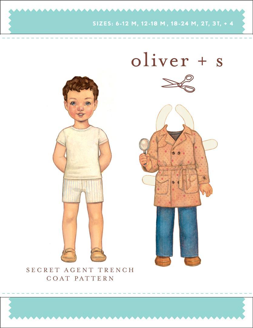 Secret Agent Trench Coat - Oliver + S