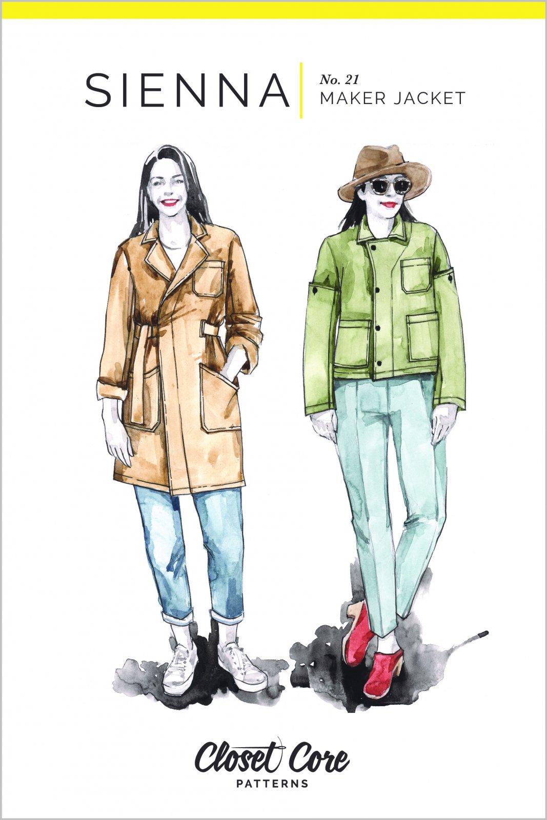 Sienna Maker Jacket - Closet Core Patterns