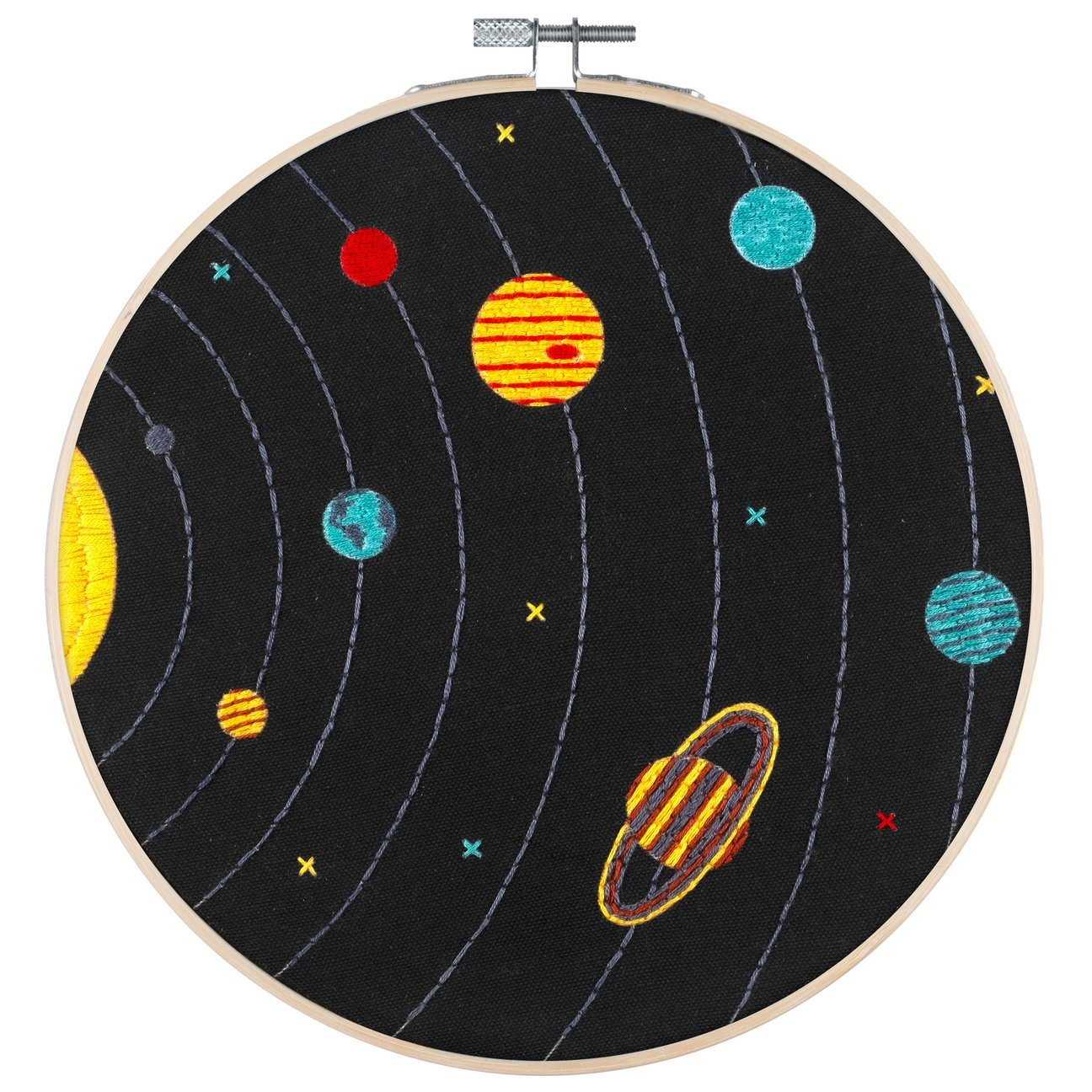 Solar System - PopLush Embroidery Kit 8