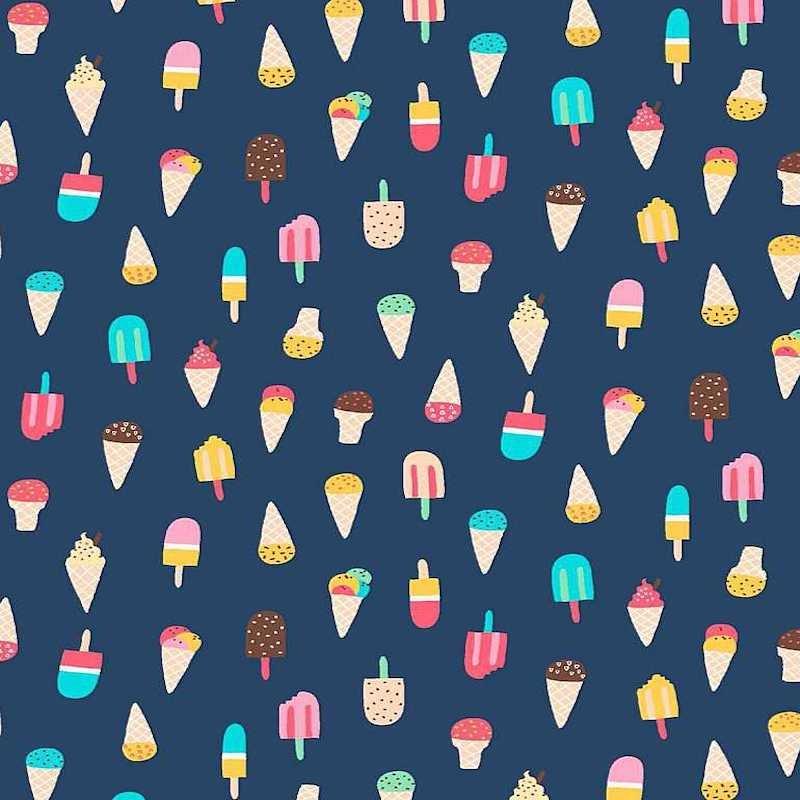 Ice Cream Regatta - Aloha - Dear Stella Cotton