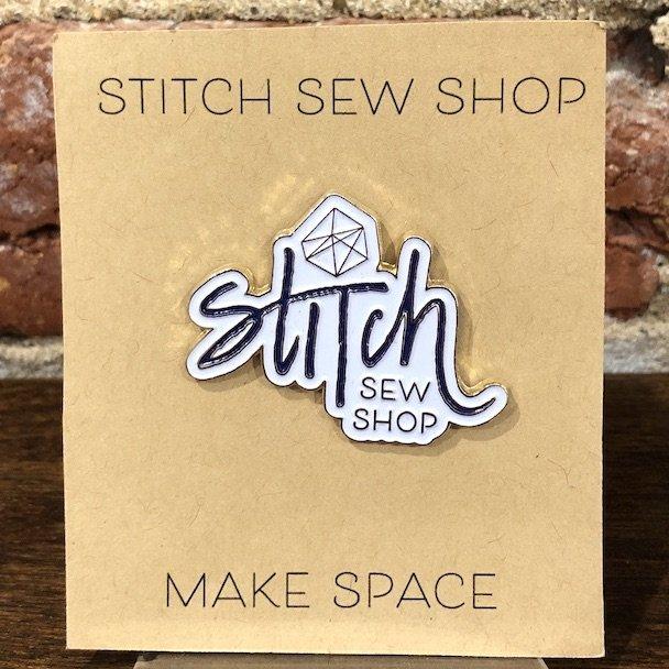 Logo Enamel Pin - Stitch Sew Shop