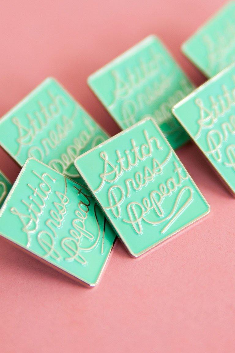 Stitch Press Repeat - Colette Pins