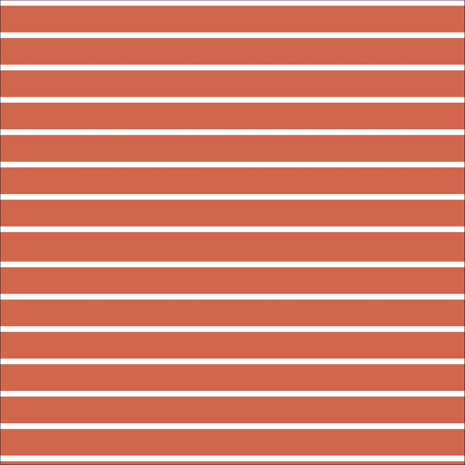 Red & White Stripes Interlock Knit - Cloud 9 Organics