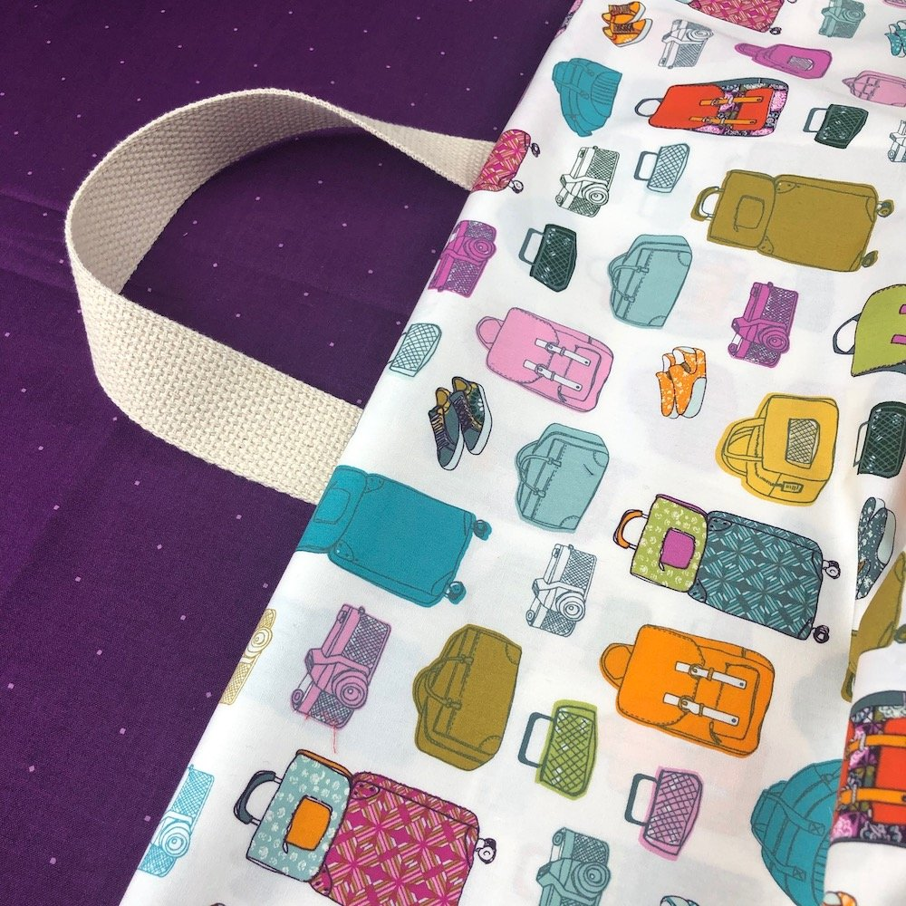 Stitch Tote Bag Kit - See the World Jelly