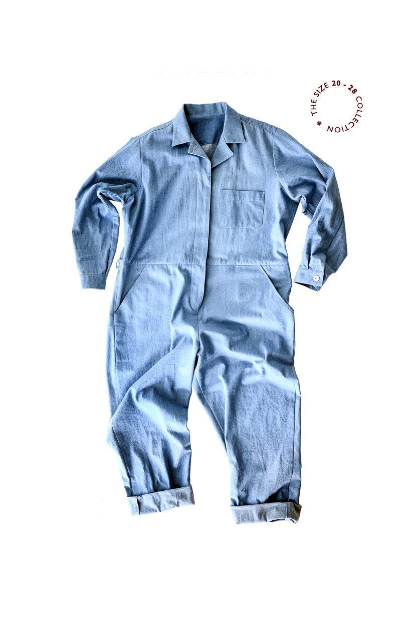 Thelma Boilersuit (Sizes UK 20 - 28) - Merchant & Mills Patterns