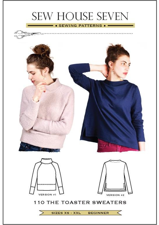 Toaster Sweater - Sew House Seven