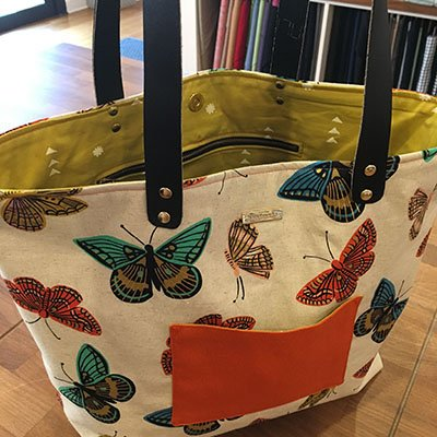 Upgraded Tote Bag Tutorial - Stitch Sew Shop - Digital Download