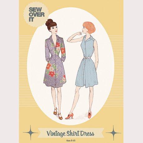 Vintage Shirt Dress - Sew Over It London