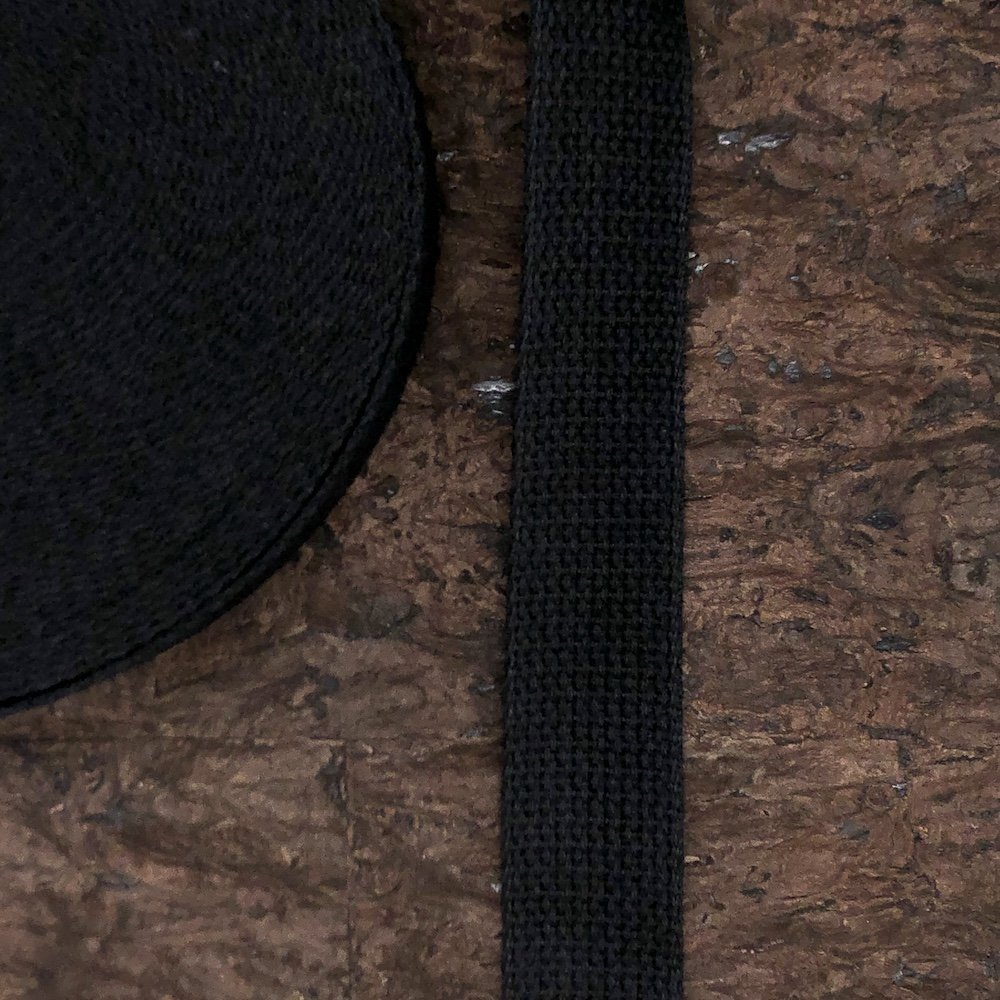 Cotton Webbing - 1 1/2 wide (multiple colors available)