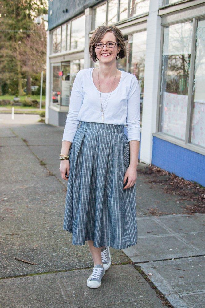 Wedgwood Skirt - Straight Stitch Designs