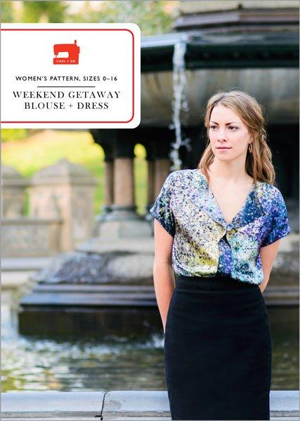 Weekend Getaway Blouse - Liesl & Co.