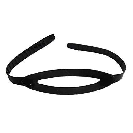 Aqualung Mask Strap - Black Silicone