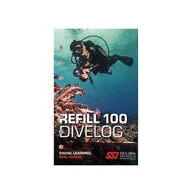 SSI Refill DiveLog Book (100 Dives)