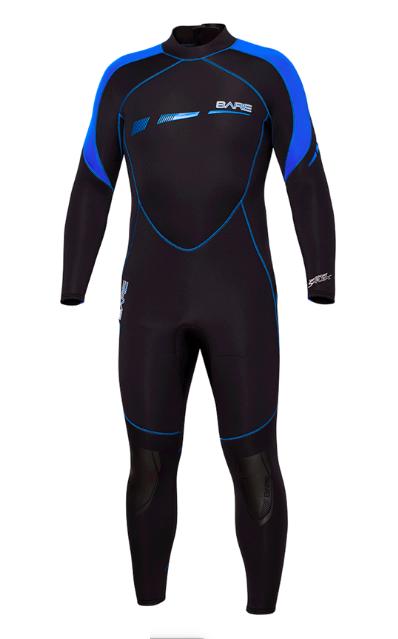 BARE 5MM Sport S-Flex Full Wetsuit