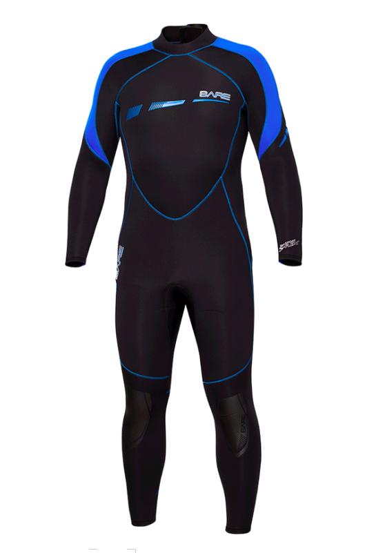 BARE 7MM Sport S-Flex Full Wetsuit