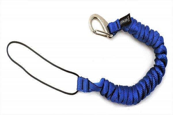 Cetacea Mini-Coil Tether W/ Fixed Cord