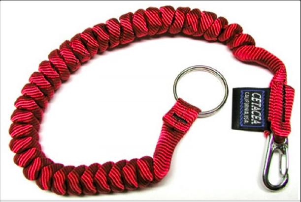 Cetacea Mini-Coil Tether W/ Split Ring