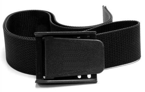 National Divers Nylon Weight Belt with Black Buckle