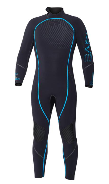 BARE 3MM Reactive Wetsuit Blue