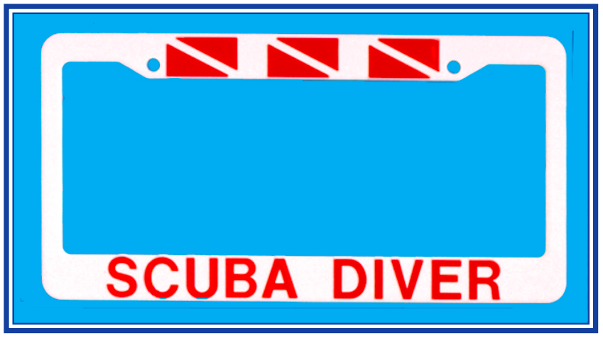 Scuba Diver Frame