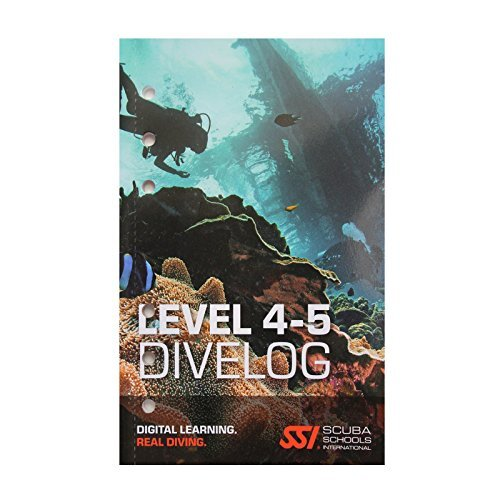 SSI DiveLog Book Levels 4-5