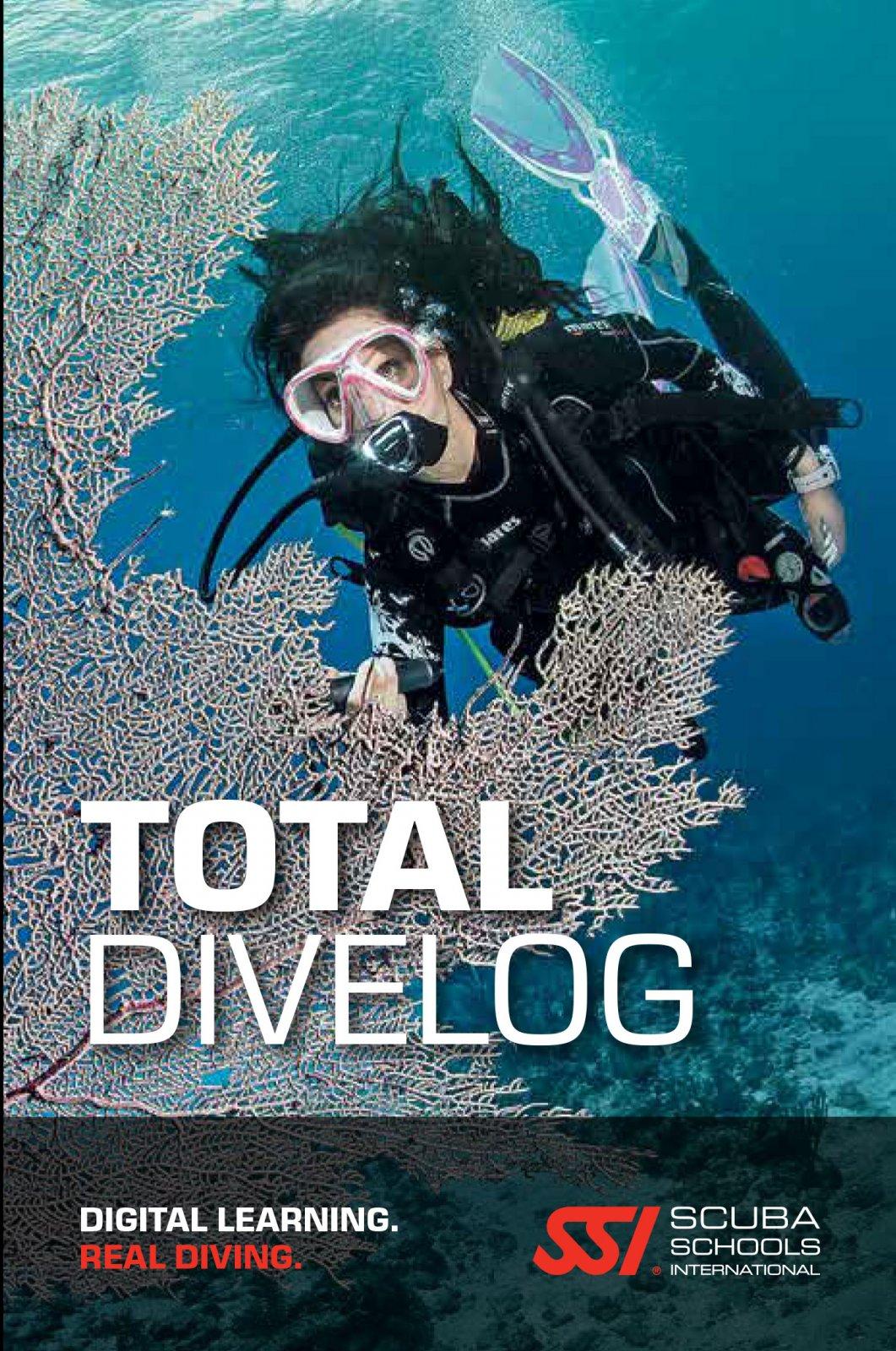SSI Total DiveLog Book (Levels 1-3)