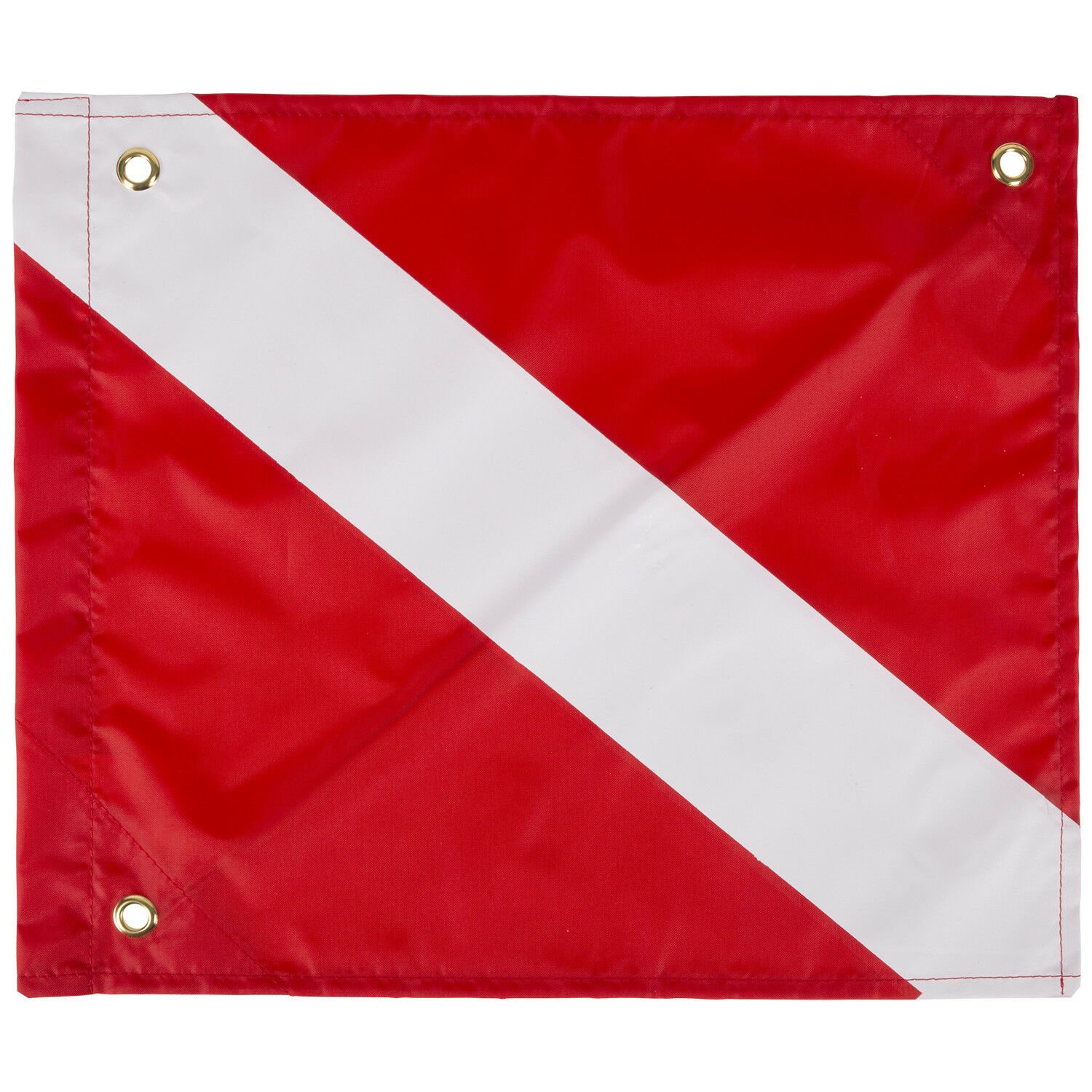 Trident Economy Dive Flag with Stiffener - 14 X 16