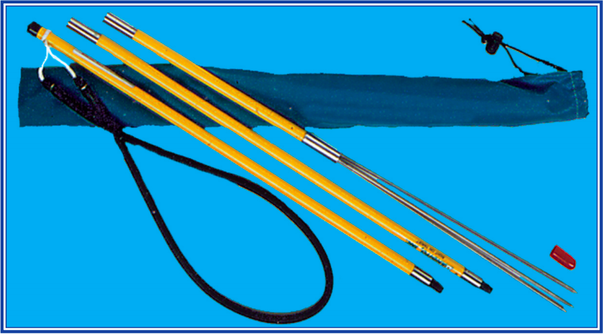 Trident Breakdown Travel Pole Spear with Barbs