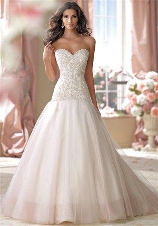 David Tutera for Mon Cheri Bridal Gown