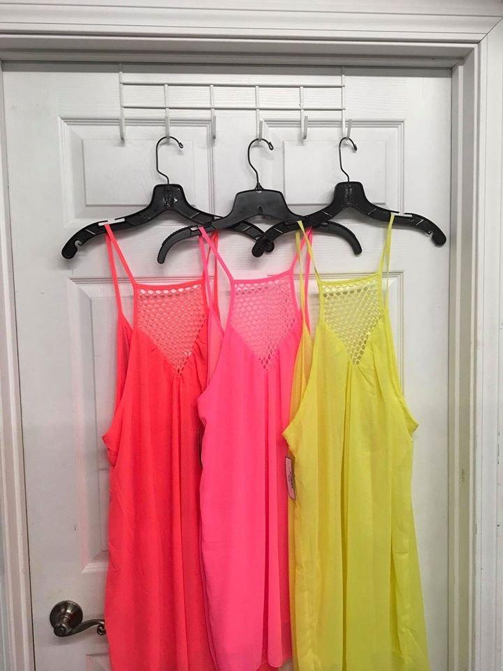 Chiffon Shift Summer Dress