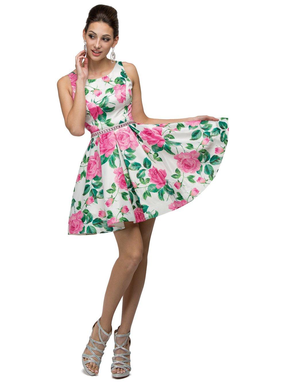 Floral Print Pinks