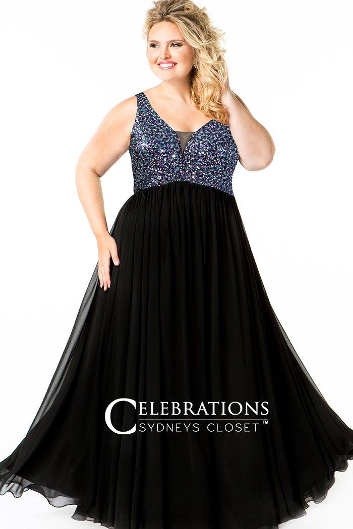 Starry Night Evening Dress