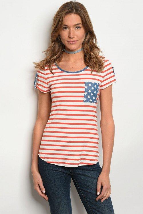 American Flag T's