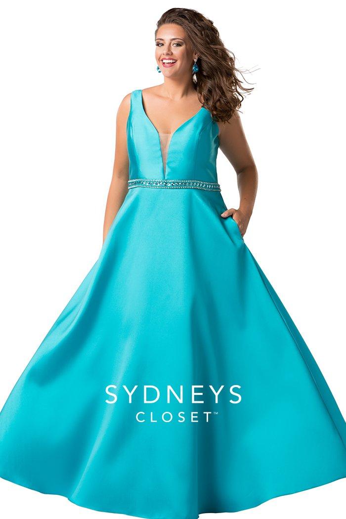 Aquamarine Simply Elegant Prom Dress