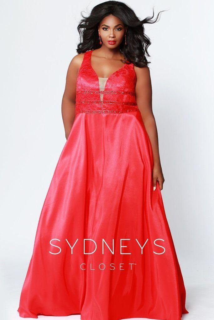 Red Whispers in the Night Prom Dress