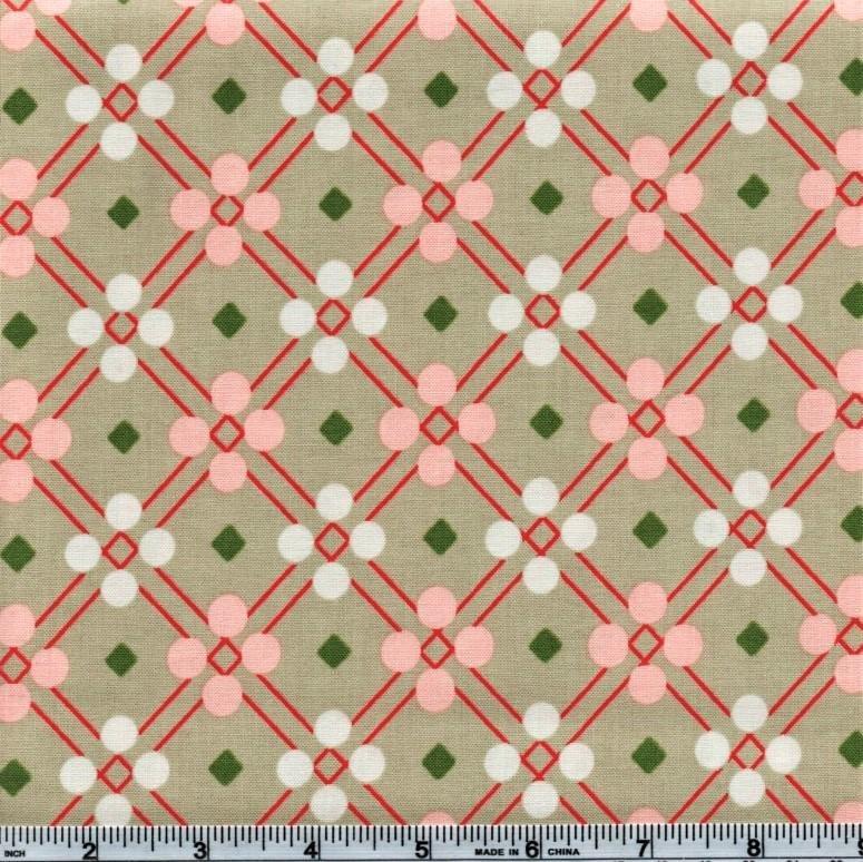 Cotton + Steel Melody Miller Picnic Blanket Beige
