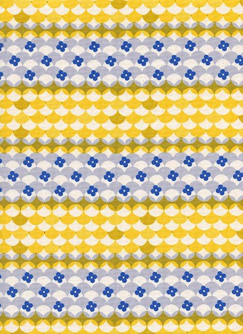 Cotton + Steel Melody Miller Trinket Gumdrops Yellow