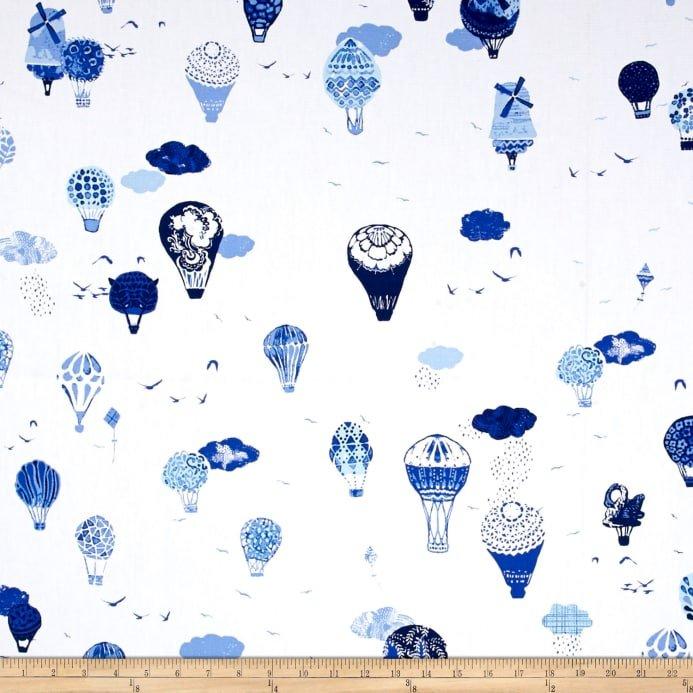 Art Gallery In Blue Fly Away Vroeg