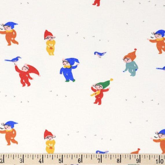 Birch Fabrics Jenny Ronen Organic Knit Whistle Playtime