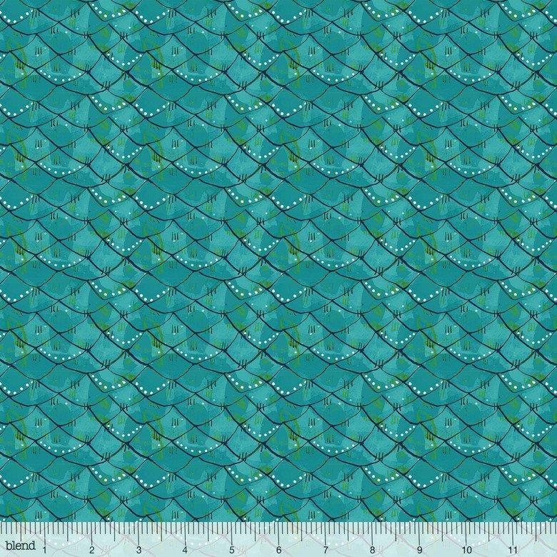 Blend Cori Dantini Mermaid Days Scalloped Turquoise