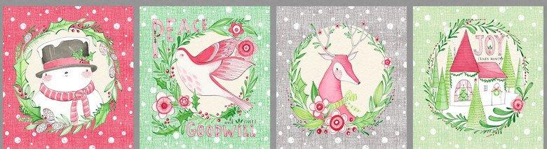 Blend Cori Dantini Merry and Bright Panel