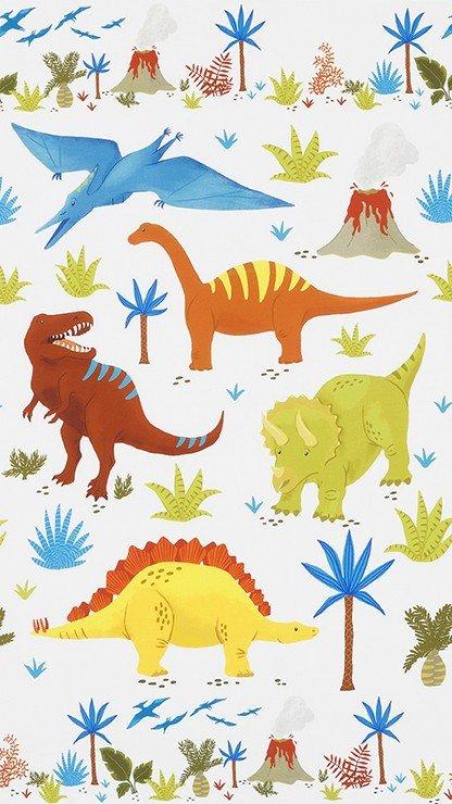 Robert Kaufman Prehistoric Adventure Panel