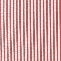 Robert Kaufman Breakers Seersucker Stripe Red