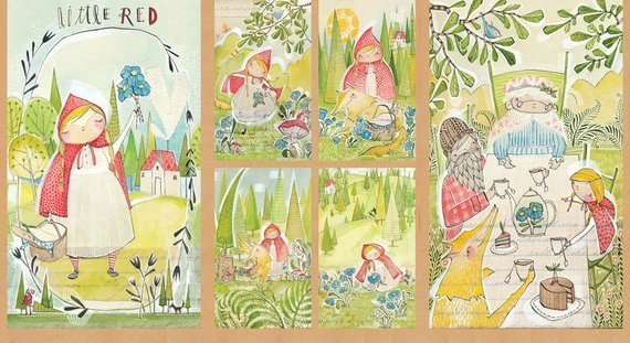 Blend Cori Dantini Little Red The Real Story Panel