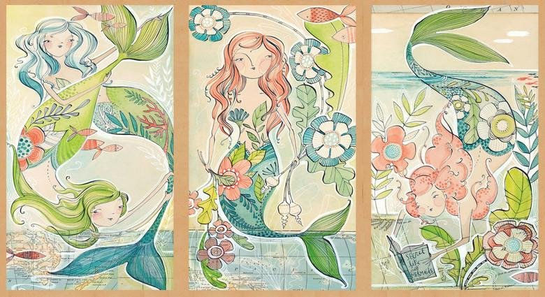 Blend Cori Dantini Mermaid Days - A Mermaid Tale Panel